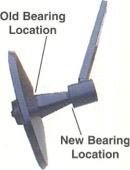 Closing Arm Assembly - Straw Choppers - TSR Parts - Colgate, North Dakota